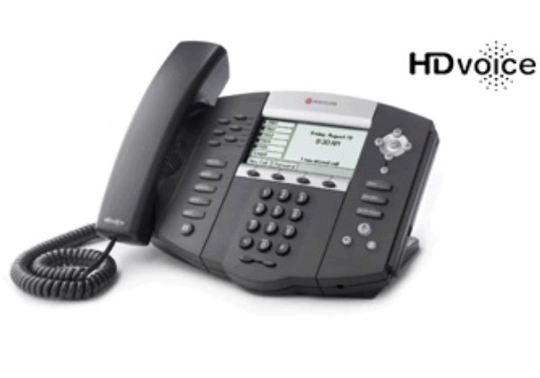 SoundPoint IP 650 2-Line VoIP Telephone.