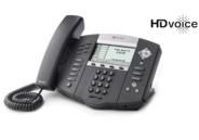 Click for large view of the SoundPoint IP 650 VoIP Telephone.