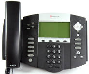 SoundPoint IP 550 4-Line VoIP Telephone.