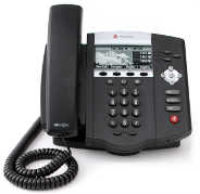 SoundPoint IP 450 3-Line VoIP Telephone.