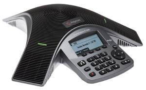 Click for large view of SoundStation IP 5000 conference speaker phone.
