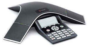 Click for large view of SoundStation IP 7000 conference speaker phone.