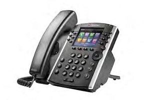 Click for large view of a Polycom VVX 410.